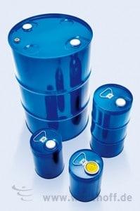 Industrieverpackung, Stahblechverpackung, Spundbehälter, Stahlfässer,