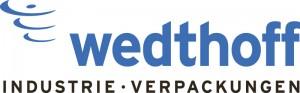 Logo WEDTHOFF. Großhandel Spezialist für Industrieverpackungen, Gefahrgutverpackungen und Bergungsfässer