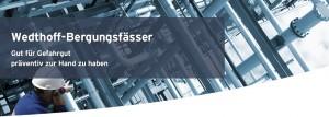 WEDTHOFF Industrieverpackungen Bergungsfass mit T-Codierung Bergungsarbeiten Start