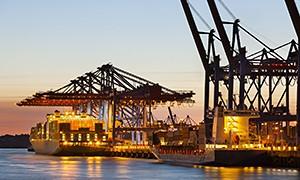 Branche mit Bergungsfass Bedarf: Bergungsfässer für Umschlagplatz, Hafen, Containerterminal