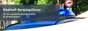 Bergungsfass / Bergungsfässer mit T-Codierung Bergungsarbeiten Start